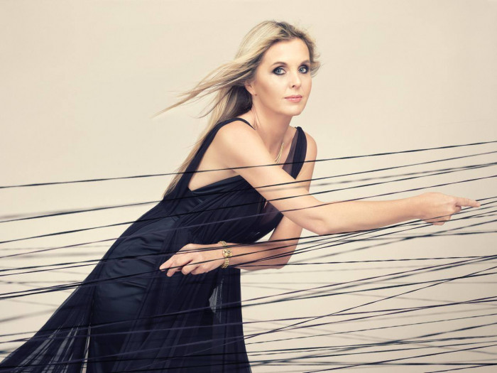Kateřina Englichová plays Mozart concert for Harp, Flute and Orchestra