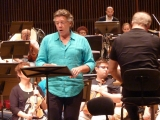 Lingua angelorum for baritone and large orchestra in Izrael