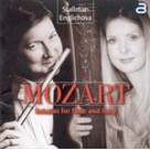 MOZART - SONATAS FOR FLUTE AND HARP